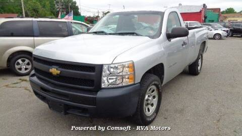 2012 Chevrolet Silverado 1500 for sale at RVA MOTORS in Richmond VA