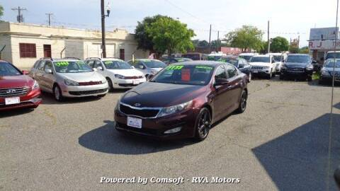 2012 Kia Optima for sale at RVA MOTORS in Richmond VA