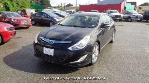 2013 Hyundai Sonata Hybrid for sale at RVA MOTORS in Richmond VA