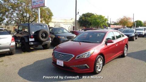 2015 Hyundai Sonata for sale at RVA MOTORS in Richmond VA