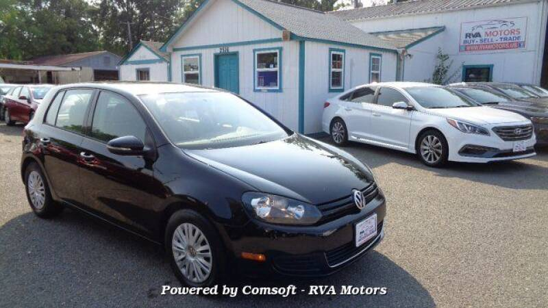 2013 Volkswagen Golf for sale at RVA MOTORS in Richmond VA