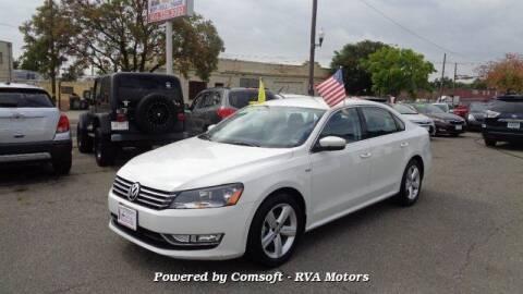 2015 Volkswagen Passat for sale at RVA MOTORS in Richmond VA