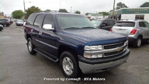 2002 Chevrolet Tahoe for sale at RVA MOTORS in Richmond VA