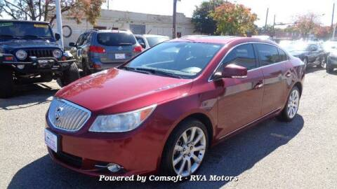 2011 Buick LaCrosse for sale at RVA MOTORS in Richmond VA