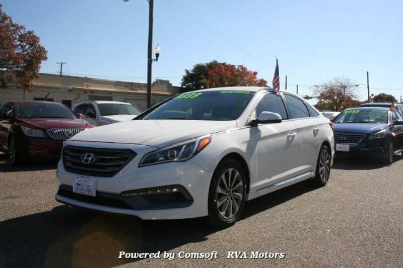 2015 Hyundai Sonata for sale at RVA MOTORS in Richmond VA