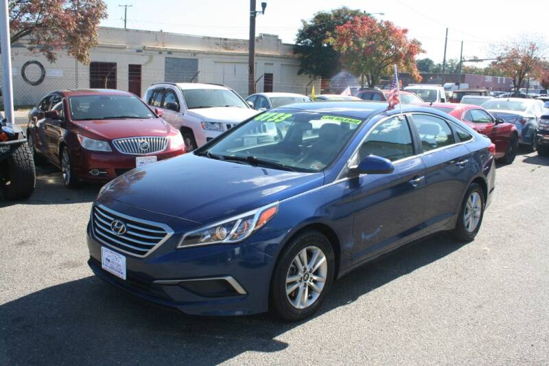 2016 Hyundai Sonata for sale at RVA MOTORS in Richmond VA