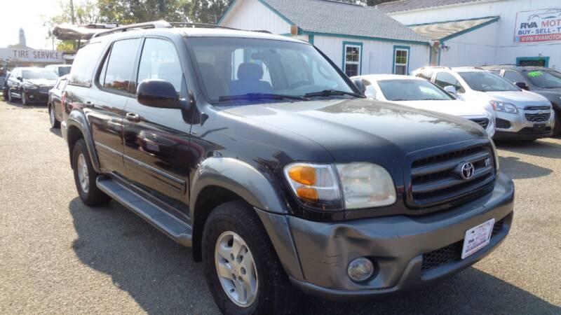 2004 Toyota Sequoia for sale at RVA MOTORS in Richmond VA