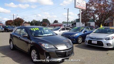 2013 Mazda MAZDA3 for sale at RVA MOTORS in Richmond VA