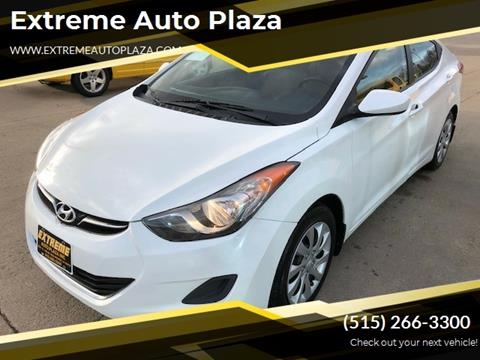 2013 Hyundai Elantra for sale in Des Moines, IA