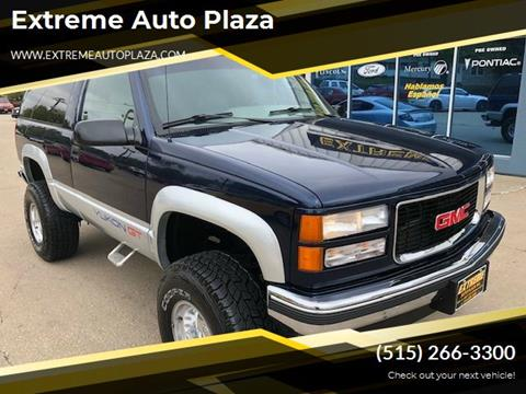 1995 GMC Yukon for sale in Des Moines, IA