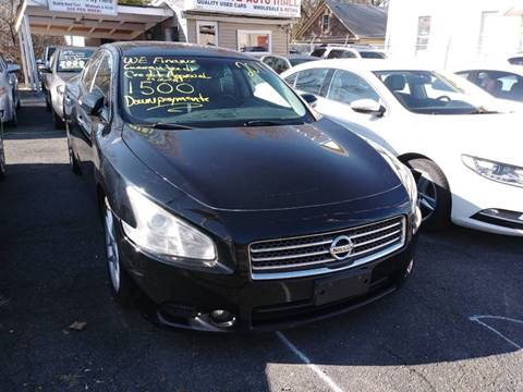 2011 Nissan Maxima for sale in Garfield, NJ