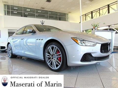 2017 Maserati Ghibli for sale in San Rafael, CA