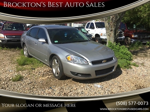Ss Best Auto Sales >> Chevrolet Impala For Sale In Brockton Ma Brockton S Best