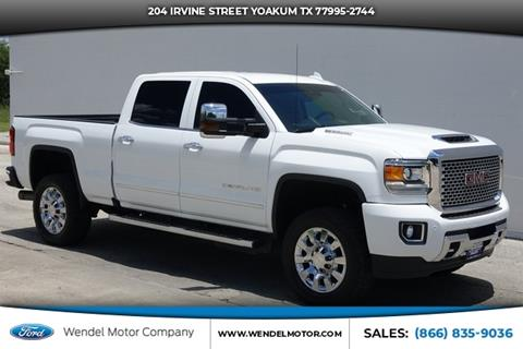 2017 GMC Sierra 2500HD for sale in Yoakum, TX