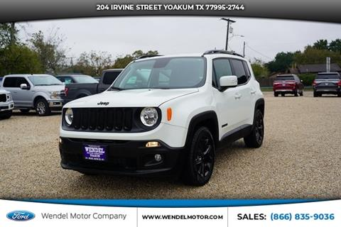 2018 Jeep Renegade for sale in Yoakum, TX