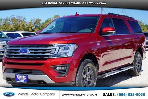 2019 Ford Expedition MAX for sale in Yoakum, TX
