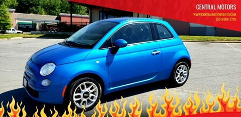 City Motors Jacksonville Ar >> 2015 Fiat 500 For Sale In Jacksonville Ar