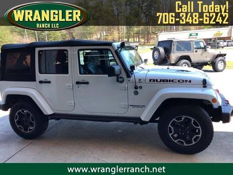2017 Jeep Wrangler Unlimited for sale in Cleveland, GA