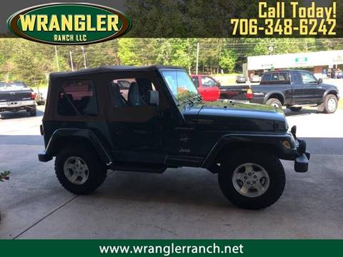 2002 Jeep Wrangler for sale in Cleveland, GA