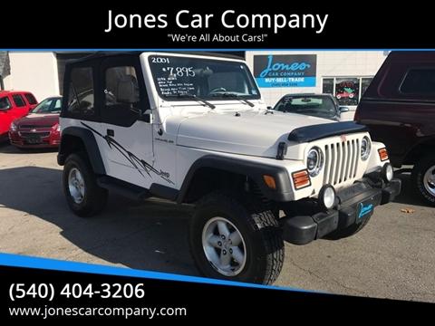 2001 Jeep Wrangler for sale in Salem, VA