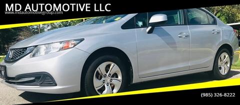 2013 Honda Civic for sale in Slidell, LA