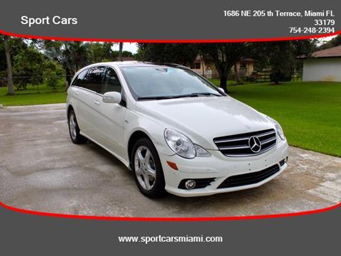 Mercedes Benz Of Miami >> 2009 Mercedes Benz R Class For Sale In Miami Fl