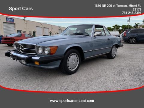 1989 Mercedes-Benz 560-Class for sale in Miami, FL
