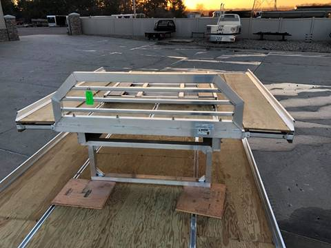 2019 Aluma Snow Deck for sale at Prairie Wind Trailers, LLC in Harrisburg SD