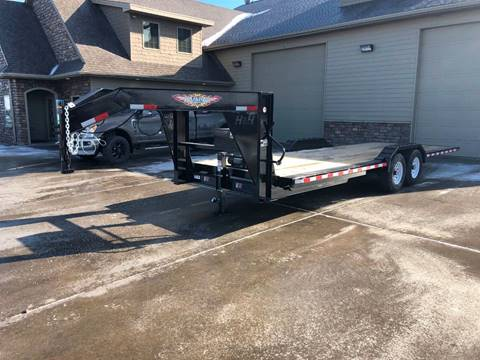 2019 H&H GN 24' Speed Loader for sale at Prairie Wind Trailers, LLC in Harrisburg SD