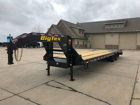 2020 Big Tex 22GN 28+5 Mega Ramps  for sale in Harrisburg, SD
