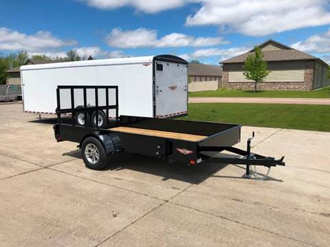 2019 H&H SS 8.5x12 Steel UtilityTrailer for sale in Harrisburg, SD