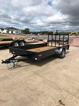 2019 H&H SS 8.5x14 Steel Utility  for sale in Harrisburg, SD