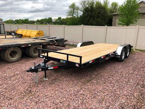 2019 H&H GDFD 18+2 Car Trailer for sale in Harrisburg, SD