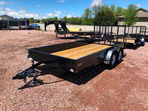 2019 H&H SS 8.5x16 Solid Sided Utility  for sale in Harrisburg, SD