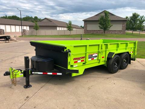 2019 Midsota HV-16 Safety Green Dump  for sale in Harrisburg, SD