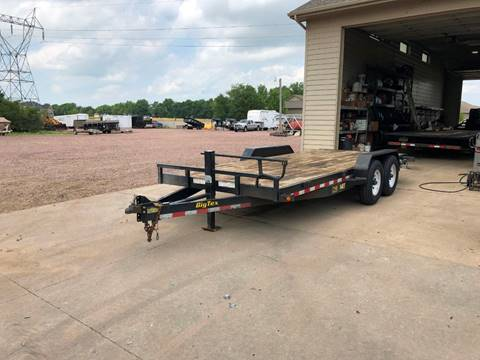2015 Big Tex 14ET-18 Used Equipment Trailer for sale in Harrisburg, SD