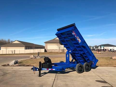 2020 Midsota HV-14 Blue Dump 8,000 LB Axles for sale in Harrisburg, SD