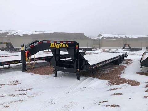 2020 Big Tex 22GN 28+5 Mega Ramps for sale at Prairie Wind Trailers, LLC in Harrisburg SD