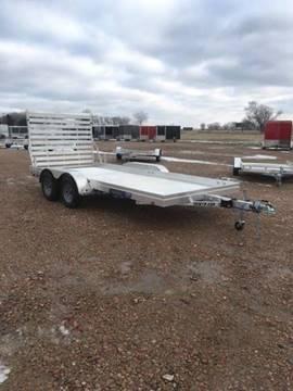 2021 Aluma 7816 Edge Series Tandem Axle for sale at Prairie Wind Trailers, LLC in Harrisburg SD