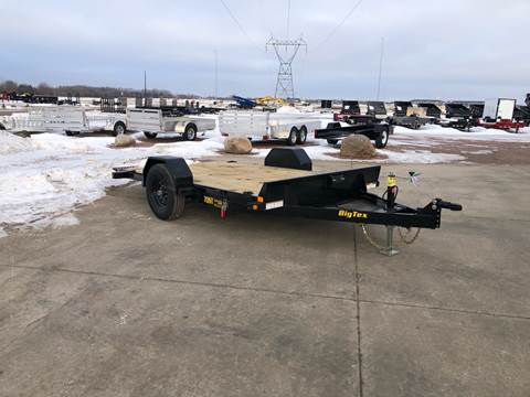 2020 Big Tex 70ST-13 Scissor Lift Tilt bed for sale at Prairie Wind Trailers, LLC in Harrisburg SD