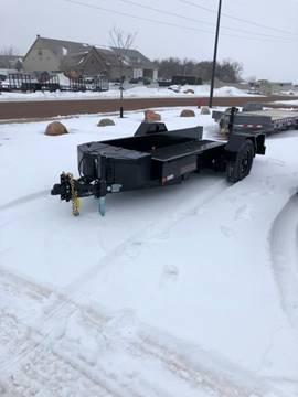 2020 Midsota SL-12 ScissorLift Tilt 7,000LB for sale at Prairie Wind Trailers, LLC in Harrisburg SD