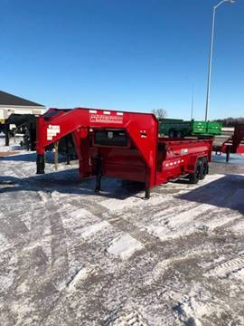 2020 Midsota GN HVHD-16 17,600 LB Rated for sale at Prairie Wind Trailers, LLC in Harrisburg SD