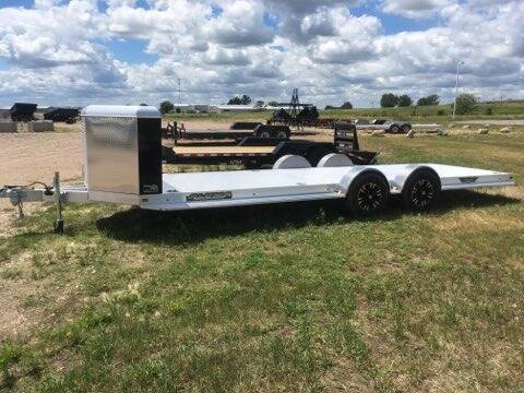 2021 Aluma 8222H- XL-TA-EL-R-RTD-CB-Black for sale at Prairie Wind Trailers, LLC in Harrisburg SD