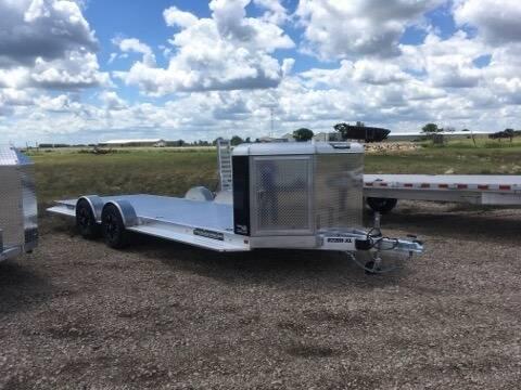 2021 Aluma 8220H-XL-TA-EL-R-RTD-CB-Black for sale at Prairie Wind Trailers, LLC in Harrisburg SD