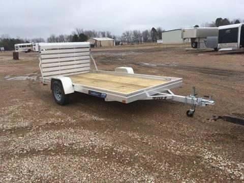 2021 Aluma 7812 ES-W Aluminum Utility for sale at Prairie Wind Trailers, LLC in Harrisburg SD