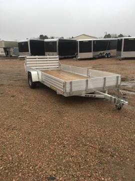 2020 Aluma 8115 SR-W Aluminum Utility for sale at Prairie Wind Trailers, LLC in Harrisburg SD