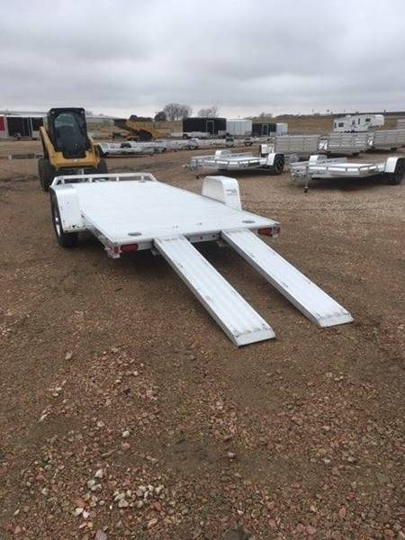 2021 Aluma 8214 HS Aluminum Utility for sale at Prairie Wind Trailers, LLC in Harrisburg SD