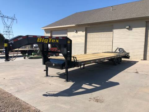2020 Big Tex 16GN 25+5 17,500 LB Rated GN for sale at Prairie Wind Trailers, LLC in Harrisburg SD