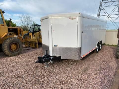 2020 H&H 101.20.72 White 14,000LB Cargo for sale at Prairie Wind Trailers, LLC in Harrisburg SD