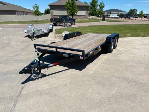 2020 H&H GDFD 16+2 Car Trailer 7,000LB for sale at Prairie Wind Trailers, LLC in Harrisburg SD